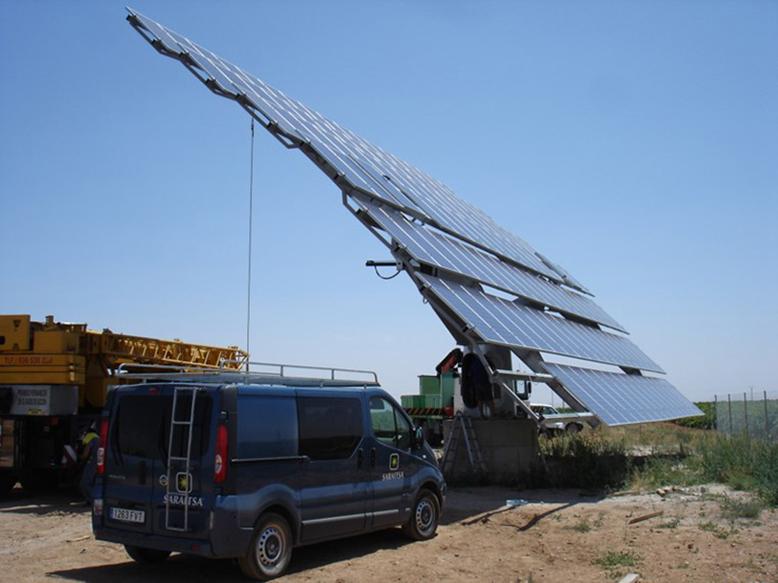 Seguidor Solar 2 ejes