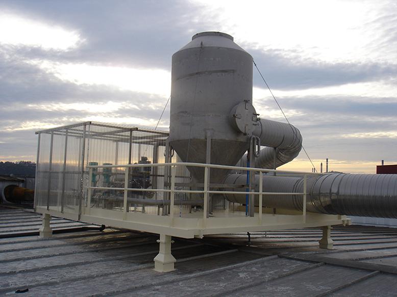 Sistema filtarcion en via humeda