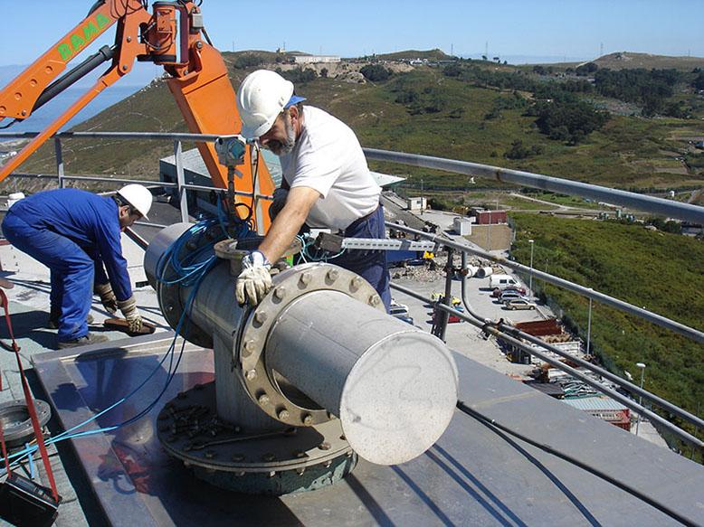 Valvula seguridad biogas